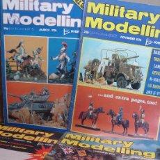Hobbys: MILITARY MODELLING - 4 NUMEROS AÑO 1976 - USA Y CANADA - ENERO FEBRERO MARZO NOVIEMBRE . Lote 34758909