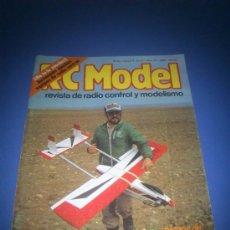 Hobbys: REVISTA RC MODEL N.12, AÑO 1982. Lote 34851356