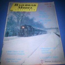 Hobbys: REVISTA RAILROAD MODEL AÑO 1968. Lote 34851418