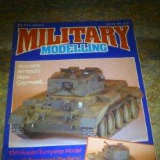 Hobbys: MILITARY MODELLING-FEBRERO 1988. Lote 34986531