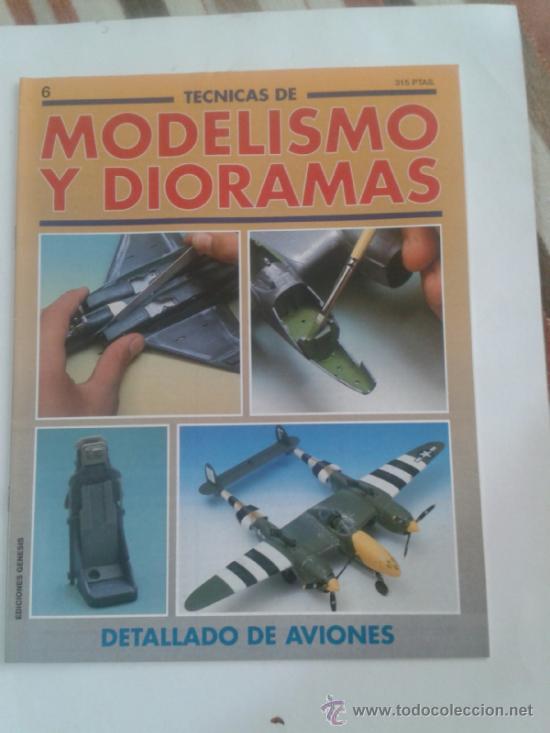 MODELISMO Y DIORAMAS -DETALLADO DE AVIONES - (Juguetes - Modelismo y Radiocontrol - Revistas)