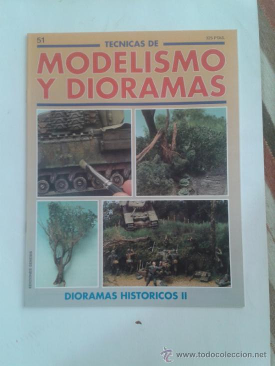 MODELISMO Y DIORAMAS -DIORAMAS HISTORICOS II - (Juguetes - Modelismo y Radiocontrol - Revistas)