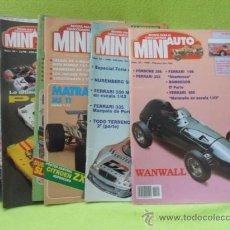 Hobbys: MINI AUTO. REVISTA DEL COLECCIONISTA. LOTE DE 6 REVISTAS: 2-3-23-24-27 Y 28. AÑO 1994/1998.. Lote 37563341