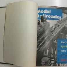 Hobbys: MODEL RAILROADER.1963. 12 REVISTAS ENCUADERNADAS.. Lote 38290084