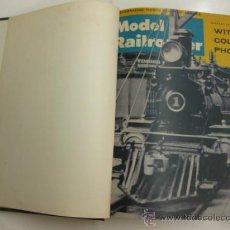 Hobbys: MODEL RAILROADER.1964. 12 REVISTAS ENCUADERNADAS.. Lote 38290093