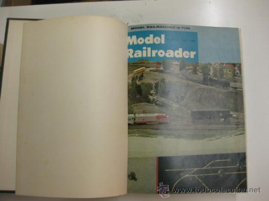 Hobbys: MODEL RAILROADER.1967. 12 REVISTAS ENCUADERNADAS. - Foto 1 - 38290103