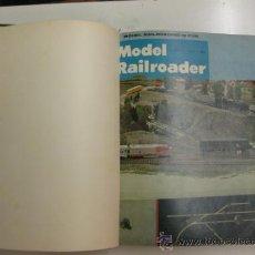 Hobbys: MODEL RAILROADER.1967. 12 REVISTAS ENCUADERNADAS.. Lote 38290103