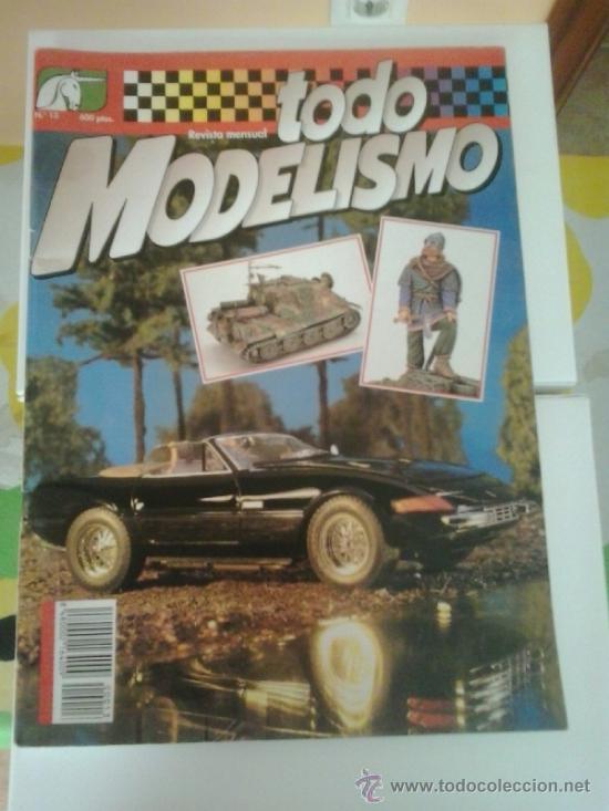 TODO MODELISMO N13 (Juguetes - Modelismo y Radiocontrol - Revistas)