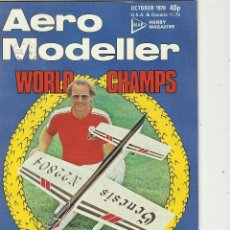 Aeromodelismo.13 revistas aero modeller y dos Model Boats.estan en ingles años 70 .
