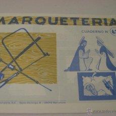Hobbys: CUADERNO DE MARQUETERÍA Nº43. Lote 39453793