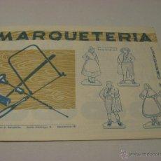 Hobbys: CUADERNO DE MARQUETERÍA Nº23. Lote 39453814