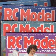 Hobbys: RC MODEL, REVISTA RADIO CONTROL Y MODELISMO , LOTE 17 EJEMPLARES. Lote 40026200