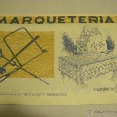 Hobbys: CUADERNO DE MARQUETERÍA Nº34. Lote 40115712