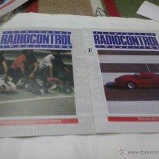 Hobbys: TECNICAS DE RADIO CONTROL Y MODELISMO 1990-N 25 MOTORES TERMICOS - N 27 MOTORES ELECTRICOS . Lote 40765777