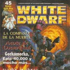Hobbys: REVISTA WHITE DWARF Nº 45. Lote 49315062