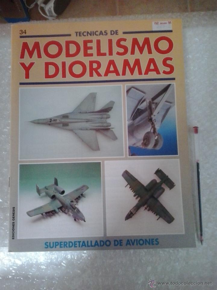 MODELISMO Y DIORAMAS -SUPERDETALLADO DE AVIONES (Juguetes - Modelismo y Radiocontrol - Revistas)