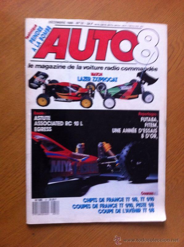 REVISTA RADIO-CONTROL AUTO 8 Nº 51 (1989) (Juguetes - Modelismo y Radiocontrol - Revistas)