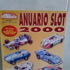 Hobbys: MINI AUTO ANUARIO SLOT AÑO 2000. Lote 42465872