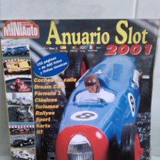 Hobbys: MINI AUTO ANUARIO SLOT AÑO 2001. Lote 42465895