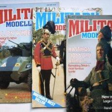 Hobbys: LOTE DE 3 REVISTAS MILLITARY MODELING JULIO, AGOSTO Y SEPTIEMBRE. Lote 43060876