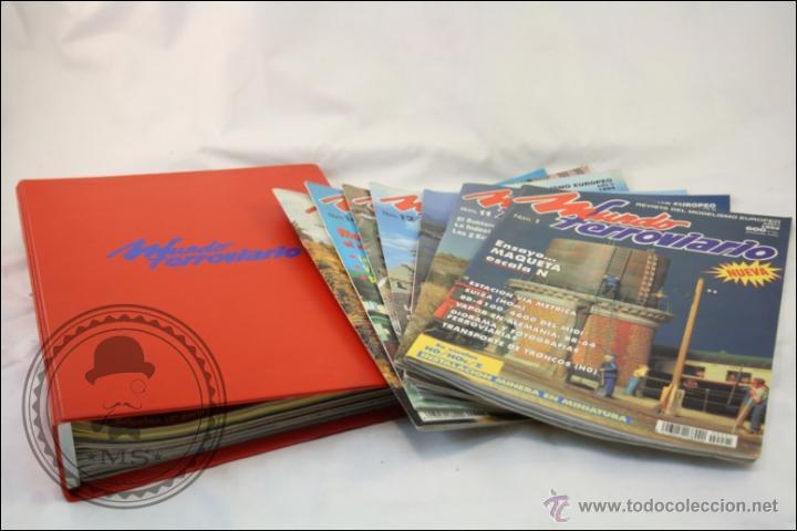 Hobbys: Colección de Revistas Mundo Ferroviario - Números 1 al 15 - 1993-1994 - Edita Resistor - Foto 2 - 43346255