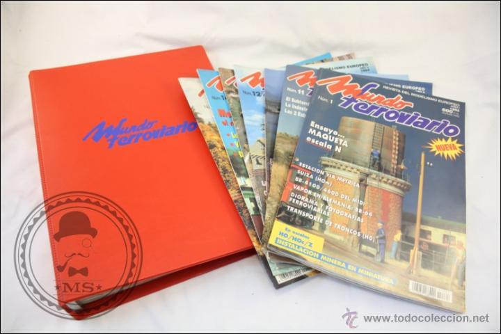 Hobbys: Colección de Revistas Mundo Ferroviario - Números 1 al 15 - 1993-1994 - Edita Resistor - Foto 3 - 43346255