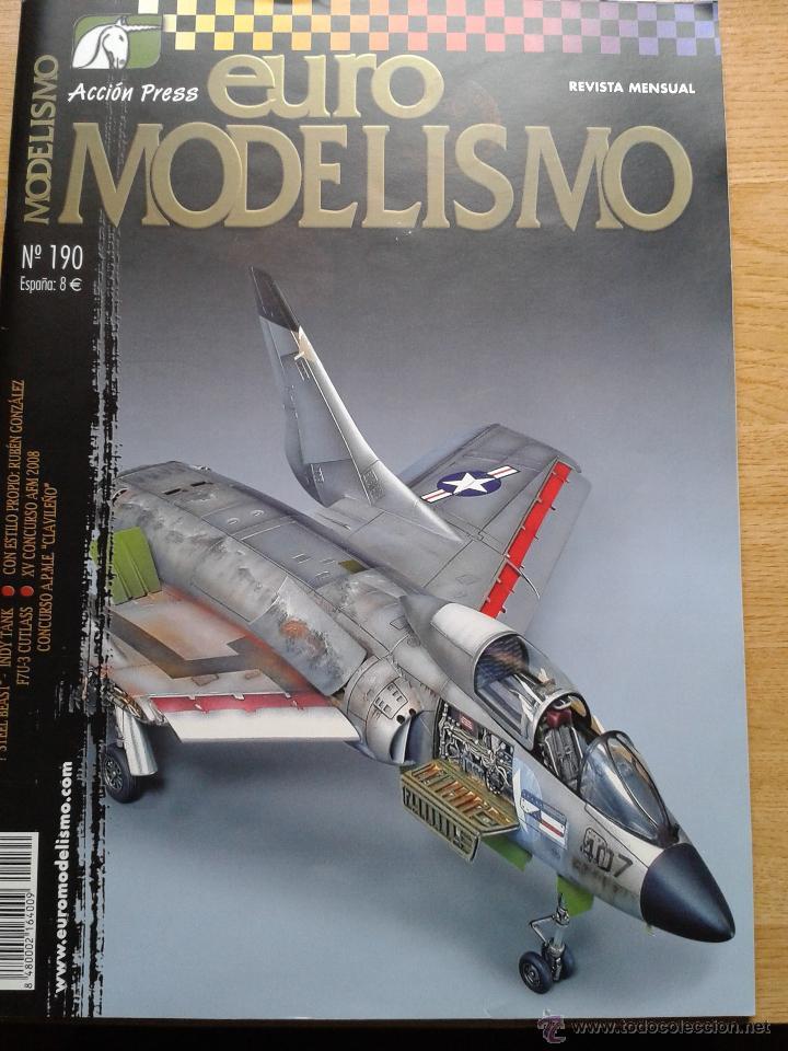 REVISTA EUROMODELISMO. (Juguetes - Modelismo y Radiocontrol - Revistas)