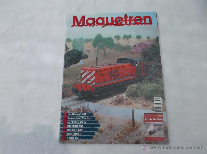 MAQUETREN Nº 139, AÑO XIV, 96 PÁGINAS (Juguetes - Modelismo y Radiocontrol - Revistas)