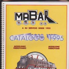 Hobbys: FERROCARRIL - CATALOGO MABAR 1995 - MODELISMO FERROVIARIO. Lote 44046133