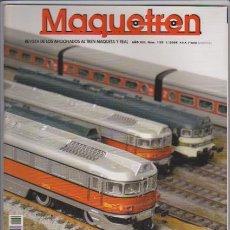 Hobbys: FERROCARRIL - MAQUETREN - Nº 130 / 2004 - REVISTA DE LOS AFICIONADOS AL TREN MAQUETA Y REAL. Lote 44056305
