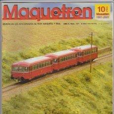 Hobbys: FERROCARRIL - MAQUETREN - Nº 101 / 2001 - REVISTA DE LOS AFICIONADOS AL TREN MAQUETA Y REAL. Lote 44056325