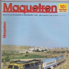 Hobbys: FERROCARRIL - MAQUETREN - Nº 99 / 2001 - REVISTA DE LOS AFICIONADOS AL TREN MAQUETA Y REAL. Lote 44056342