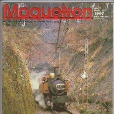 Hobbys: FERROCARRIL - MAQUETREN - Nº 53 / 1997 - REVISTA DE LOS AFICIONADOS AL TREN MAQUETA Y REAL. Lote 44057183