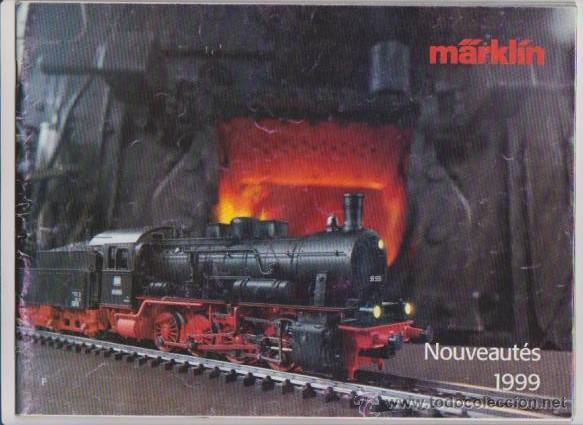 FERROCARRIL - CATALOGO MARKLÍN 1999 - MODELISMO FERROVIARIO (Juguetes - Modelismo y Radiocontrol - Revistas)