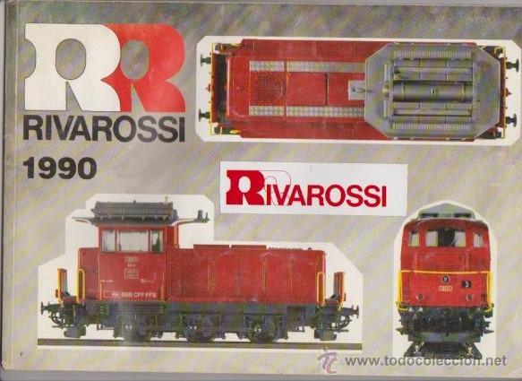 FERROCARRIL - CATALOGO RIVAROSSI 1990 - MODELISMO FERROVIARIO (Juguetes - Modelismo y Radiocontrol - Revistas)