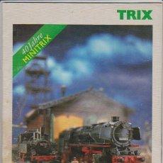 Hobbys: FERROCARRIL - CATALOGO TRIX 1999 - MODELISMO FERROVIARIO. Lote 44069367