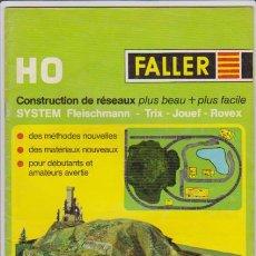 Hobbys: FERROCARRIL - FALLER H0 - REF. 840/2 - MODELISMO FERROVIARIO. Lote 44069419