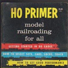 Hobbys: FERROCARRIL - H0 PRIMER - MODEL RAILROAD - MODELISMO FERROVIARIO. Lote 44069536