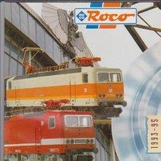 Hobbys: FERROCARRIL - CATALOGO ROCO 1993/95 - MODELISMO FERROVIARIO. Lote 44069557