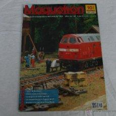 Hobbys: MAQUETREN Nº 103, AÑO X, 81 PÁGINAS. Lote 211432340