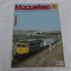 Hobbys: MAQUETREN Nº 99, AÑO X, 78 PÁGINAS. Lote 211432476