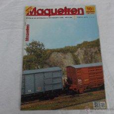 Hobbys: MAQUETREN Nº 100, AÑO X, 90 PÁGINAS. Lote 211432379