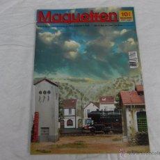 Hobbys: MAQUETREN Nº 95, AÑO XI, 80 PÁGINAS. Lote 211432565
