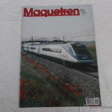 Hobbys: MAQUETREN Nº 93, AÑO X, 76 PÁGINAS. Lote 211432616