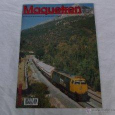 Hobbys: MAQUETREN Nº 81, AÑO IX, 82 PÁGINAS. Lote 206979892