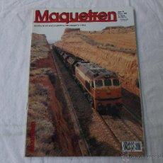 Hobbys: MAQUETREN Nº 84, AÑO X, 80 PÁGINAS. Lote 206980047