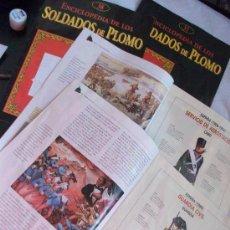 Hobbys: LOTE 4 FASCICULOS ¨ENCICLOPEDIA DE LOS SOLDADOS DE PLOMO ¨: GUARDIA CIVIL, AEROESTACION, ETC... Lote 44286081