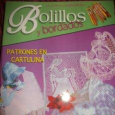 Hobbys: REVISTA BOLILLOS Y BORDADOS - CON PLANTILLAS EN CARTULINA - 26 PAG APROX - Nº 4 - NUEVA EPOCA. Lote 44852955