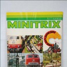 Hobbys: CATÁLOGO EN ALEMÁN DE TRENES EN MINIATURA TRIX. MINITRIX 1976 / 77 - MEDIDAS 29,5 X 21 CM. Lote 44976800