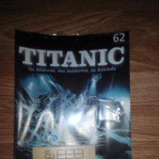 Hobbys: TITANIC - CONSTRUYA EL BARCO - SALVAT - NUMERO 62 FASCICULO SIN ESTRENAR. Lote 45647986